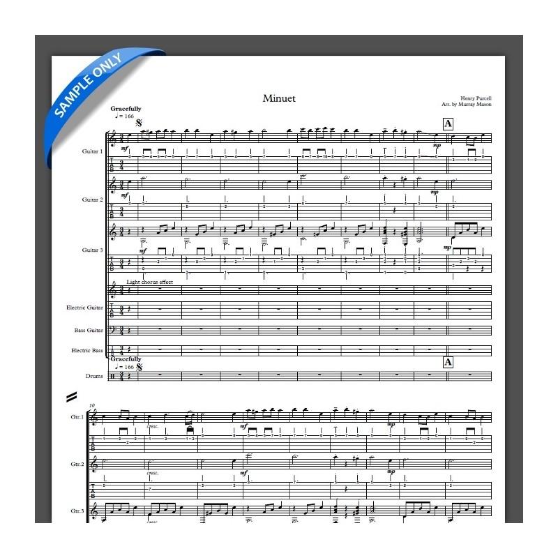 'Minuet' - Full Score