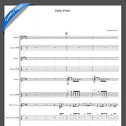 'Funky Fresh' - Full Score
